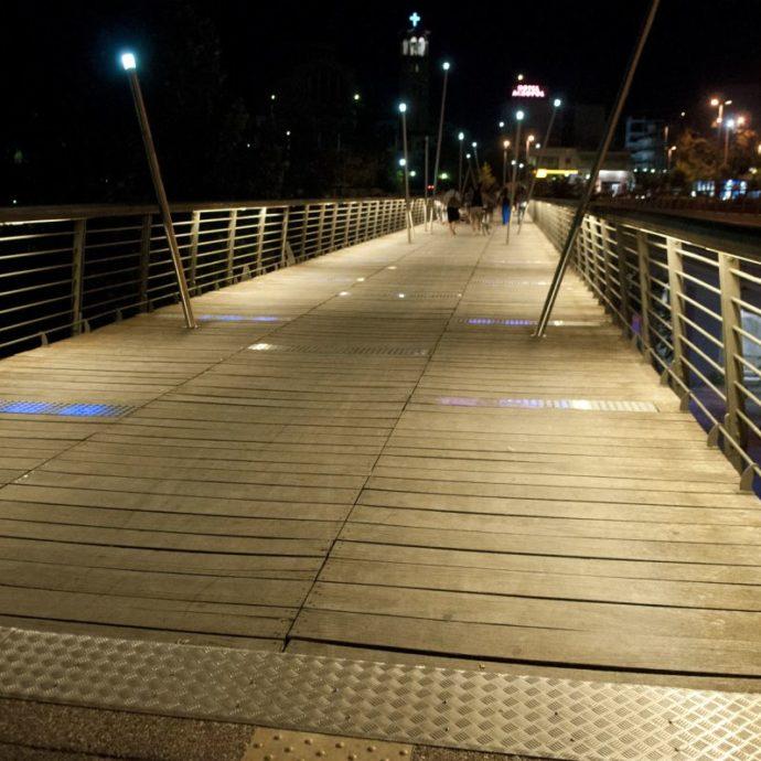 Ανάπλαση γέφυρας Πηνειάδων Νυμφών – Δήμος Λαρισαίων