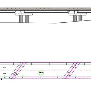 οδογέφυρα   στον Πηνειό  ποταμό -οδού  Γόννων- Μακρυχωρίου