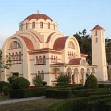 """""""Ιερός Ναός Μεταμορφώσεως του Σωτήρος"""" στο χώρο της 1ης Στρατιάς Λάρισας"""