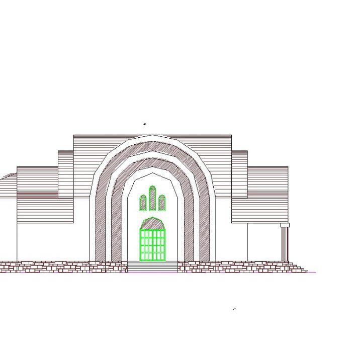 ιερός ναός νέου κοιμητηρίου Λάρισας