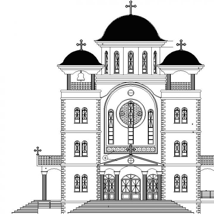 """ιερός ναός Αγ. Αποστόλων στον οικισμό εργατικών κατοικιών ''Μελίνα Μερκούρη"""""""