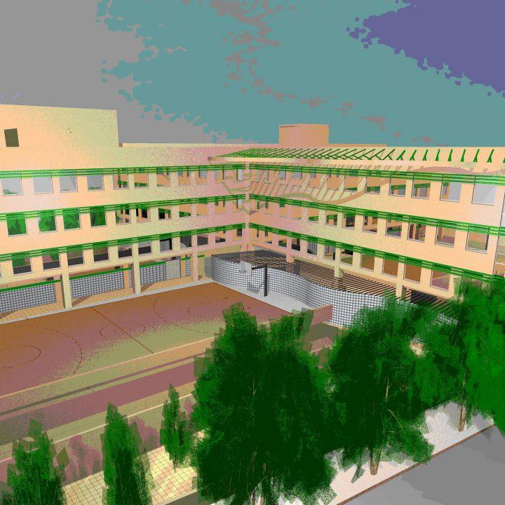 σχολικό συγκρότημα  6ου και 7ου Τεχνικού Επαγγελματικού Λυκείου Αθήνας