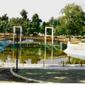 νέα λίμνη στο πάρκο Αλκαζάρ Λάρισας