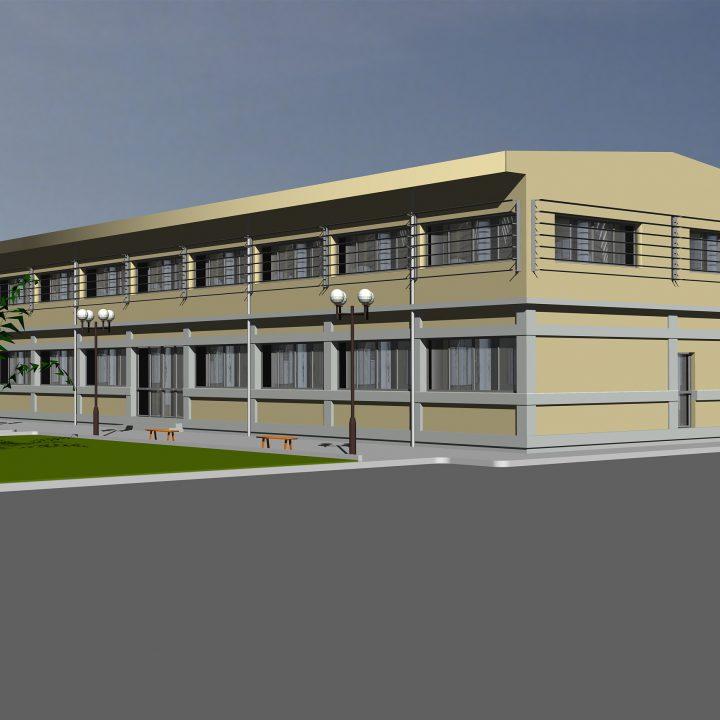 Κτίριο Γραφείων στη Λάρισα, του Περιφερειακού τομέα της ΔΕΗ Α.Ε. Κεντρικής Ελλάδας