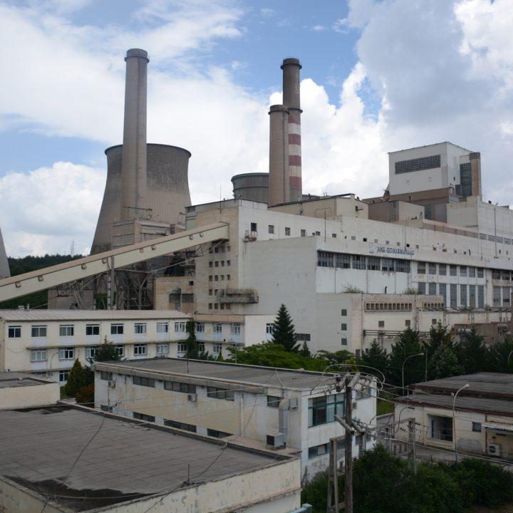 Κεντρικό Μηχανουργείο του Λιγνιτικού κέντρου της Δ.Ε.Η. Δυτικής Μακεδονίας