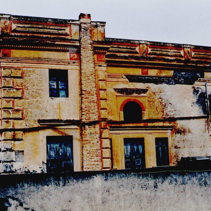 Διατηρητέο κτίριο του πρώην κοινοτικού καταστήματος Έξω Γωνίας, Σαντορίνης