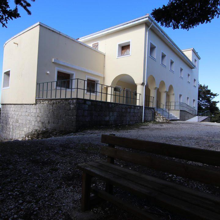 Κέντρο Πληροφόρησης & Ορεινό καταφύγιο στον Εθνικό Δρυμό Αίνου Κεφαλληνίας