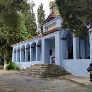 """""""Ιερός Ναός Αγίου Γεωργίου"""" Αμπελακίων"""