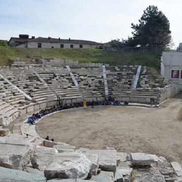 Παλαιό Στρατιωτικό Αρτοποιείο στο χώρο του Α' Αρχαίου θεάτρου Λάρισας