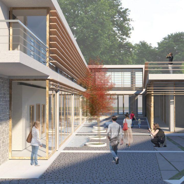 Συμμετοχή στο αρχιτεκτονικό διαγωνισμό για τον επανασχεδιασμό του Δημαρχείου του Δήμου Πύλης