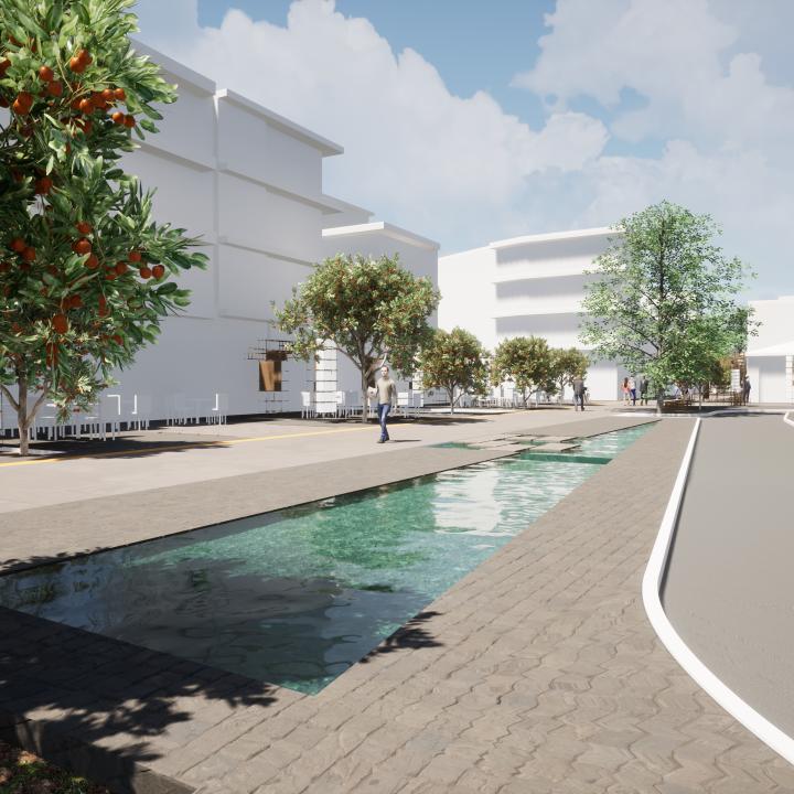 3ο βραβείο στον Αρχιτεκτονικό Διαγωνισμό Ιδεών για το Open Mall της Άρτας